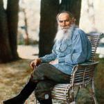 Портрет Лев Толстой