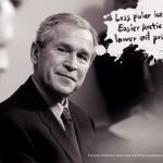 Джордж Буш и цены на нефть
