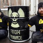 Радиоактивные отходы из Франции