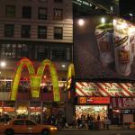 Макдональдс и Фрайдис на Бродвее
