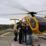 Ниагара-Фолс. Посадка в вертолет